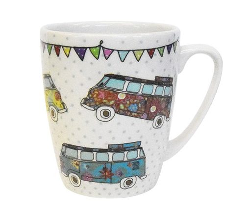 caravan trail campervan mug
