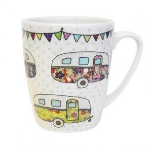 caravan trail caravans mug