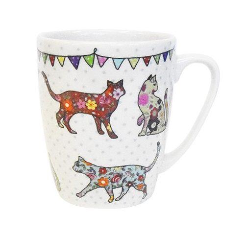 caravan trail cats mug