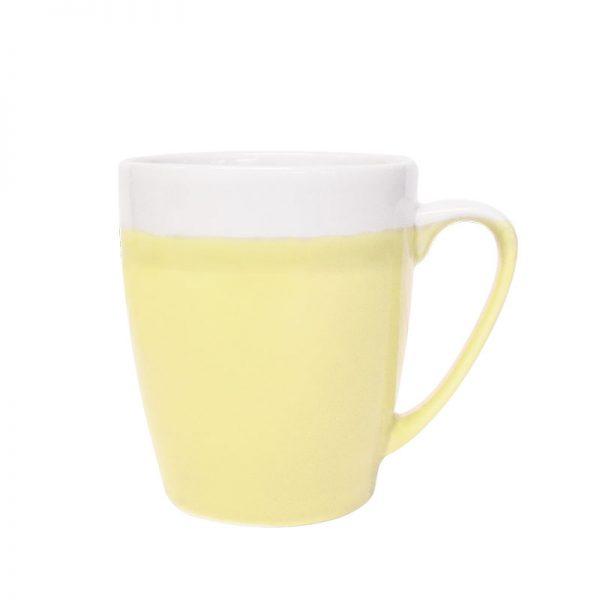 cosy blends yellow lemon mug