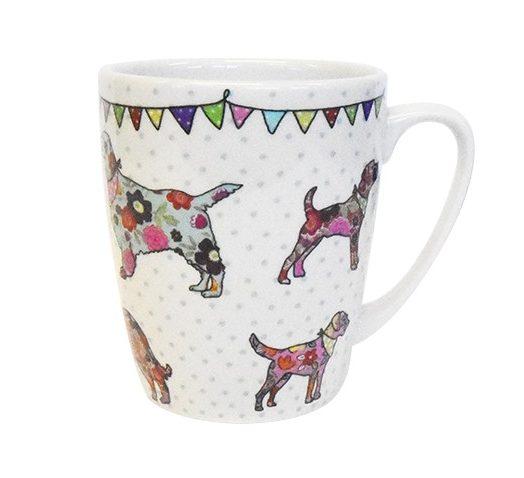 caravan trail dogs mug