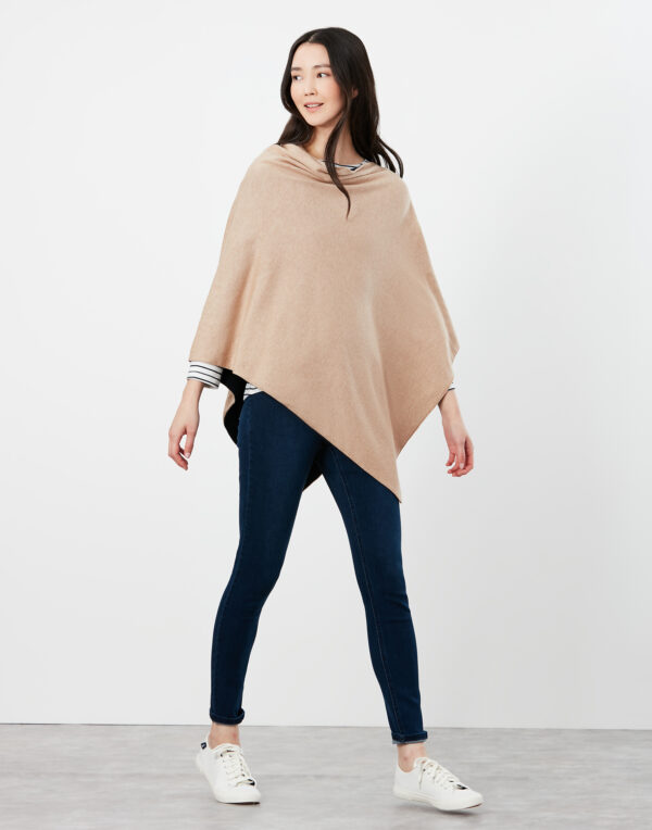 joules knitted poncho