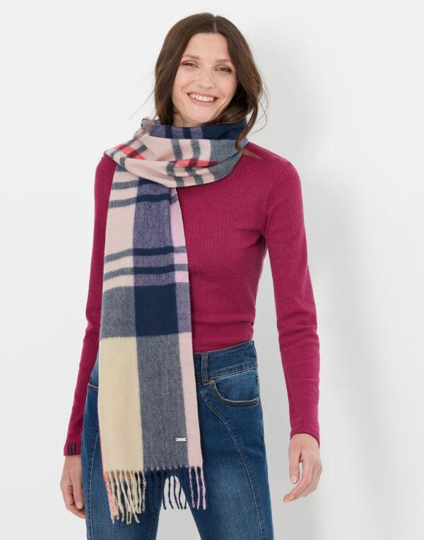 joules braken scarf