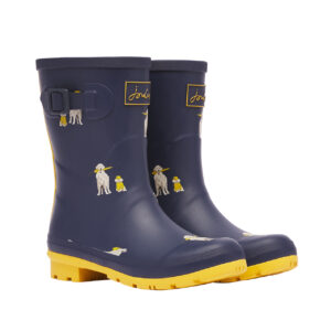 joules rain dogs wellies