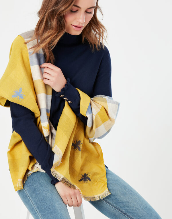 joules bee scarf