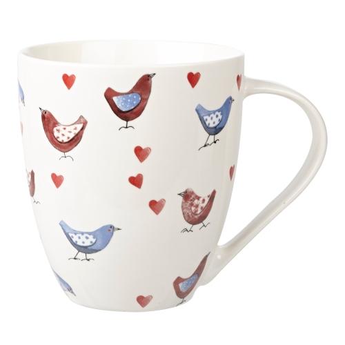 alex clark lovebirds crush mug