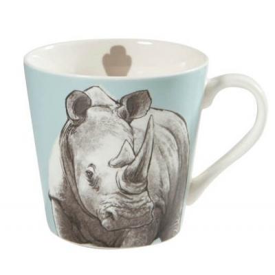 couture rhino mug