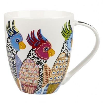 parakeets crush mug