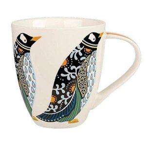 paradise birds penguin mug
