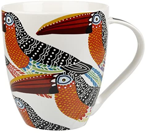 paradise bird toucans mug
